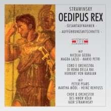 Igor Strawinsky (1882-1971): Oedipus Rex (2 Gesamtaufnahmen), 2 CDs