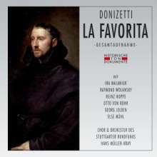 Gaetano Donizetti (1797-1848): La Favorita (in dt.Spr.), 2 CDs