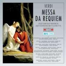 Giuseppe Verdi (1813-1901): Requiem (8 Gesamtaufnahmen/MP3-Format), 2 MP3-CDs