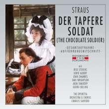 Oscar Straus (1870-1954): Der tapfere Soldat, 2 CDs