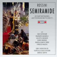 Gioacchino Rossini (1792-1868): Semiramide, 2 CDs