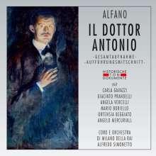 Franco Alfano (1875-1954): Il Dottor Antonio, 2 CDs