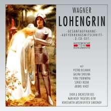 Richard Wagner (1813-1883): Lohengrin (in ukrainischer Sprache), 3 CDs