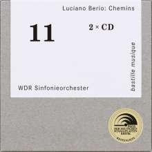 Luciano Berio (1925-2003): Chemins I,II,IIb,IIc,III,IV,V,Kol od (VI),Recit (VII), 2 CDs