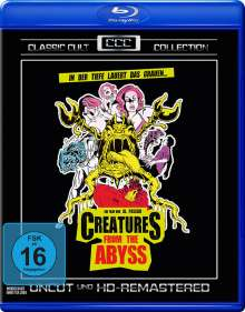 Creatures from the Abyss (Blu-ray), Blu-ray Disc