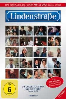 Lindenstraße Staffel 1, 11 DVDs