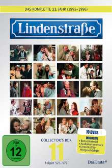 Lindenstraße Staffel 11, 10 DVDs