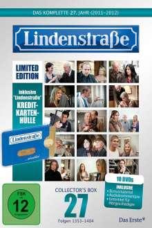 Lindenstraße Staffel 27 (Limited Edition mit Kreditkartenhülle), 10 DVDs