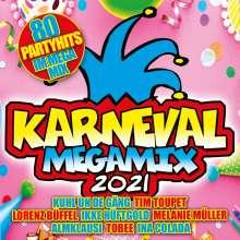 Karneval Megamix 2021, 2 CDs