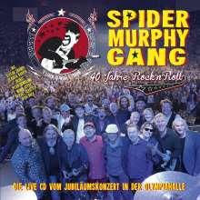 Spider Murphy Gang: 40 Jahre Rock'n'Roll: Live 2017, 2 CDs