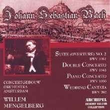 Johann Sebastian Bach (1685-1750): Konzert für 2 Violinen BWV 1043, CD