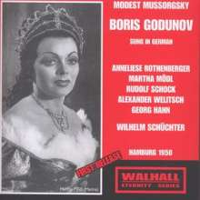 Modest Mussorgsky (1839-1881): Boris Godunow (in dt.Spr.), 2 CDs