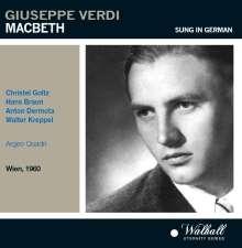 Giuseppe Verdi (1813-1901): Macbeth (in dt.Spr.), 2 CDs