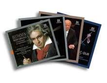 Beethoven - Freiheit über alles (Eine Hörbiografie von Jörg Handstein) & legendäre BR-Einspielungen (Exklusiv für jpc), 12 CDs