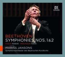 Ludwig van Beethoven (1770-1827): Symphonien Nr. 1 & 2, CD