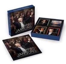 Mariss Jansons - The Edition (BRKlassik-Aufnahmen), 57 CDs, 11 Super Audio CDs und 2 DVDs