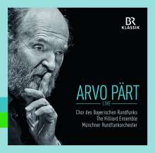 Arvo Pärt (geb. 1935): Geistliche Werke - Pärt Live, CD