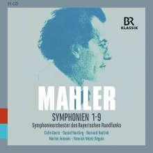 Gustav Mahler (1860-1911): Symphonien Nr.1-9, 11 CDs