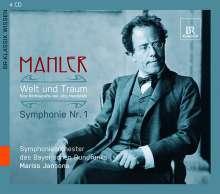 Gustav Mahler - Welt und Traum (Eine Hörbiografie von Jörg Handstein), 4 CDs