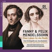 Fanny und Felix Mendelssohn - Zwei Leben für die Musik (Eine Hörbiografie von Jörg Handstein), 4 CDs