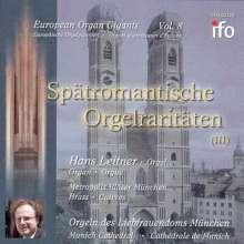 Hans Leitner:Spät-Romantische Orgelraritäten Vol.3, CD