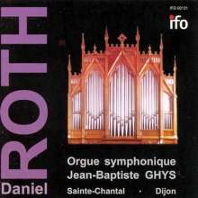 Daniel Roth - Orgue Symphonique Jean-Baptiste GHYS, CD