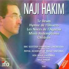 Naji Hakim (geb. 1955): Missa redemptionis, CD