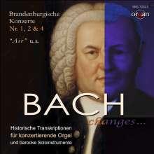 Johann Sebastian Bach (1685-1750): Brandenburgische Konzerte Nr.1,2,4, CD