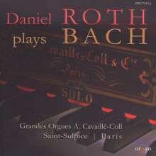 Daniel Roth plays Bach, CD