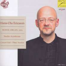 Hans-Ola Ericsson - Woehl-Orgel Concert Hall, Studio Acusticum, Pitea (Schweden), CD