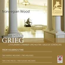 Edvard Grieg (1843-1907): Aus Holbergs Zeit-Suite op.40, CD