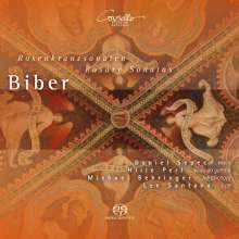 Heinrich Ignaz Biber (1644-1704): Rosenkranz-(Mysterien-)Sonaten Nr.1-16, 2 Super Audio CDs
