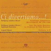 Wolfgang Amadeus Mozart (1756-1791): Divertimenti KV 136-138, Super Audio CD
