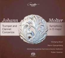 Johann Melchior Molter (1696-1765): Trompetenkonzerte Nr.1-3 MWV IV Nr.12-14, SACD
