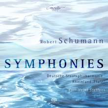 Robert Schumann (1810-1856): Symphonien Nr.1-4, 2 Super Audio CDs