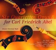Johann Christian Bach (1735-1782): Quartette op.8 Nr.1-6 für Oboe, Violine, Viola da gamba, Cello (für Carl Friedrich Abel), CD