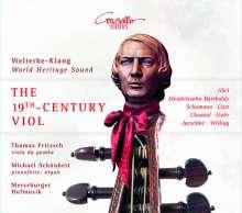 Thomas Fritzsch - The 19th Century Viol, CD