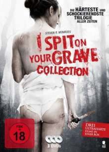 I Spit on your Grave Collection, 3 DVDs