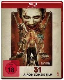 31 - A Rob Zombie Film (Blu-ray), Blu-ray Disc