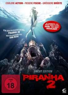 Piranha 2, DVD