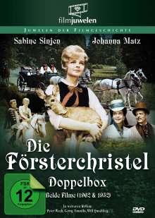 Die Försterchristl (1962) / Försterchristl (1952), 2 DVDs