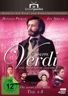 Giuseppe Verdi - Eine italienische Legende, 4 DVDs
