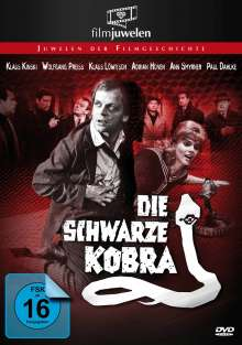 Die schwarze Kobra, DVD