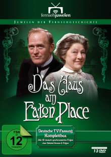 Das Haus am Eaton Place (Komplettbox - Deutsche Fassung), 13 DVDs