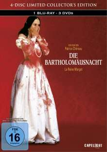 Die Bartholomäusnacht (Blu-ray & DVD im Mediabook), 1 Blu-ray Disc und 3 DVDs