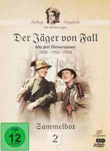 Die Ganghofer Verfilmungen Box 2: Der Jäger von Fall, 3 DVDs