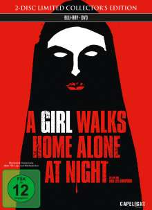 A Girl Walks Home Alone at Night (Blu-ray & DVD im Mediabook), 1 Blu-ray Disc und 1 DVD
