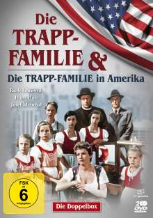 Die Trapp-Familie / Die Trapp-Familie in Amerika, 2 DVDs