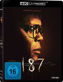 187 - Eine tödliche Zahl (Ultra HD-Blu-ray), Ultra HD Blu-ray