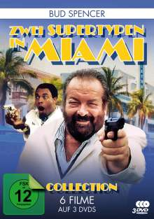 Bud Spencer Collection: Zwei Supertypen in Miami (6 Filme auf 3 DVDs), 3 DVDs